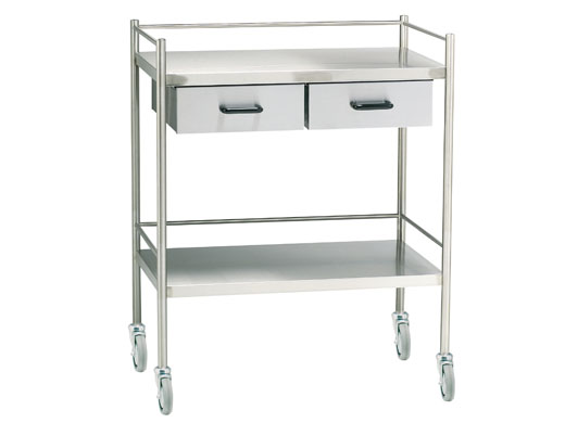Medical/Instrument Trolleys (stainless steel)