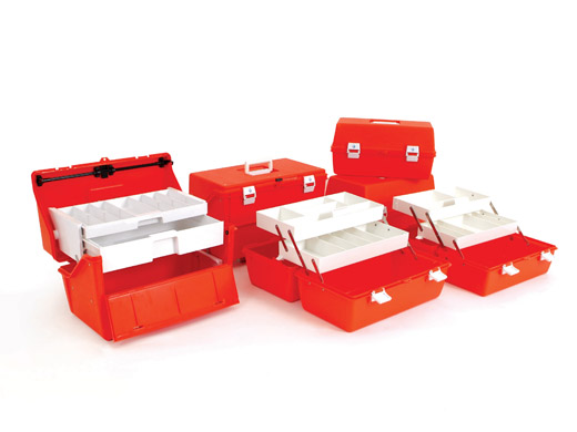 Flambeau Orange Medical Kits