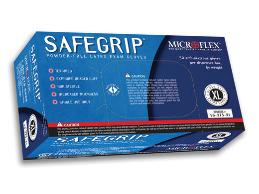 Safegrip Latex Glove
