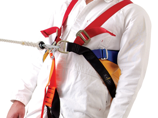 Vertical Rescue Triangular Harness