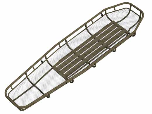 Traverse Titan Basket Stretcher (Titanium)