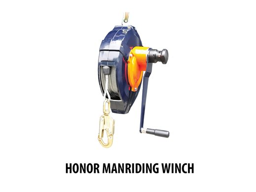 Honor Manriding Winch
