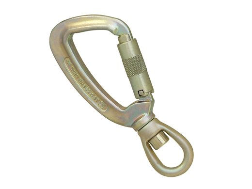 Stainless Steel Swivel Triplock Karabiner