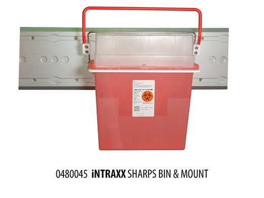 iNTRAXX Sharps Container Mount
